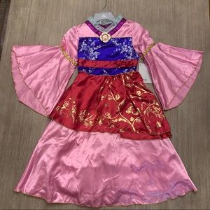 Disney Princess Mulan Girls Costume